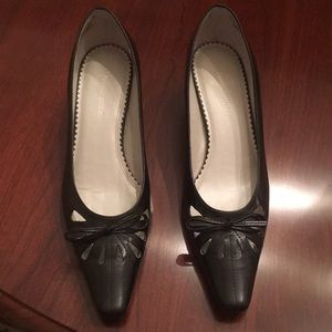 Naturalizer Shoes - Naturalizer Railey Black Leather Shoe